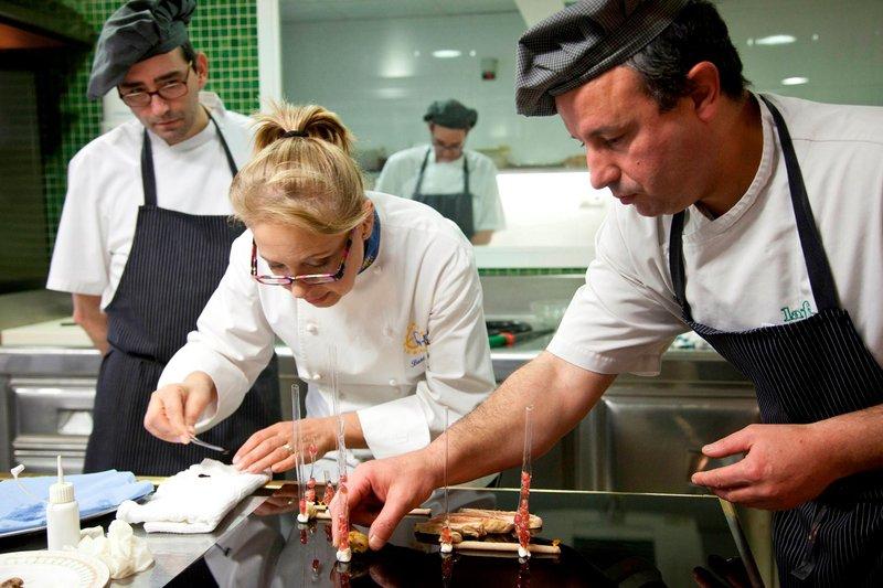 Susi Díaz. Chef Rte. «La Finca»